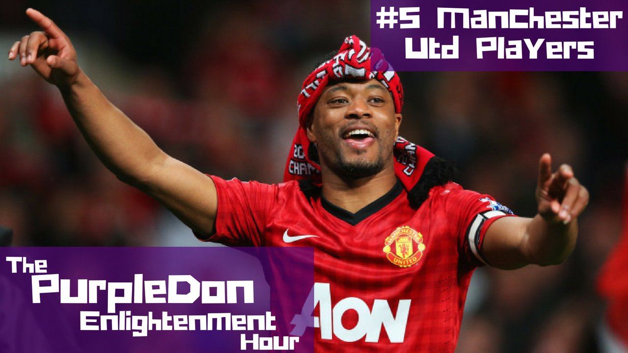 Top 5 Favourite Manchester Utd Players of Our Lifetime – The PurpleDon Enlightenment Hour #5