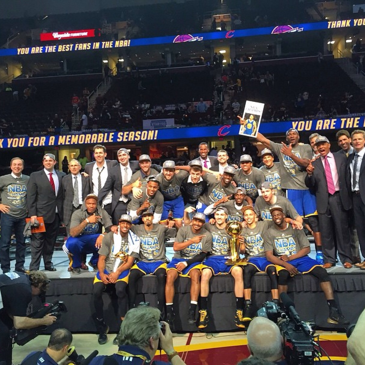 The Golden State Warriors Are The 2015 NBA Champions!