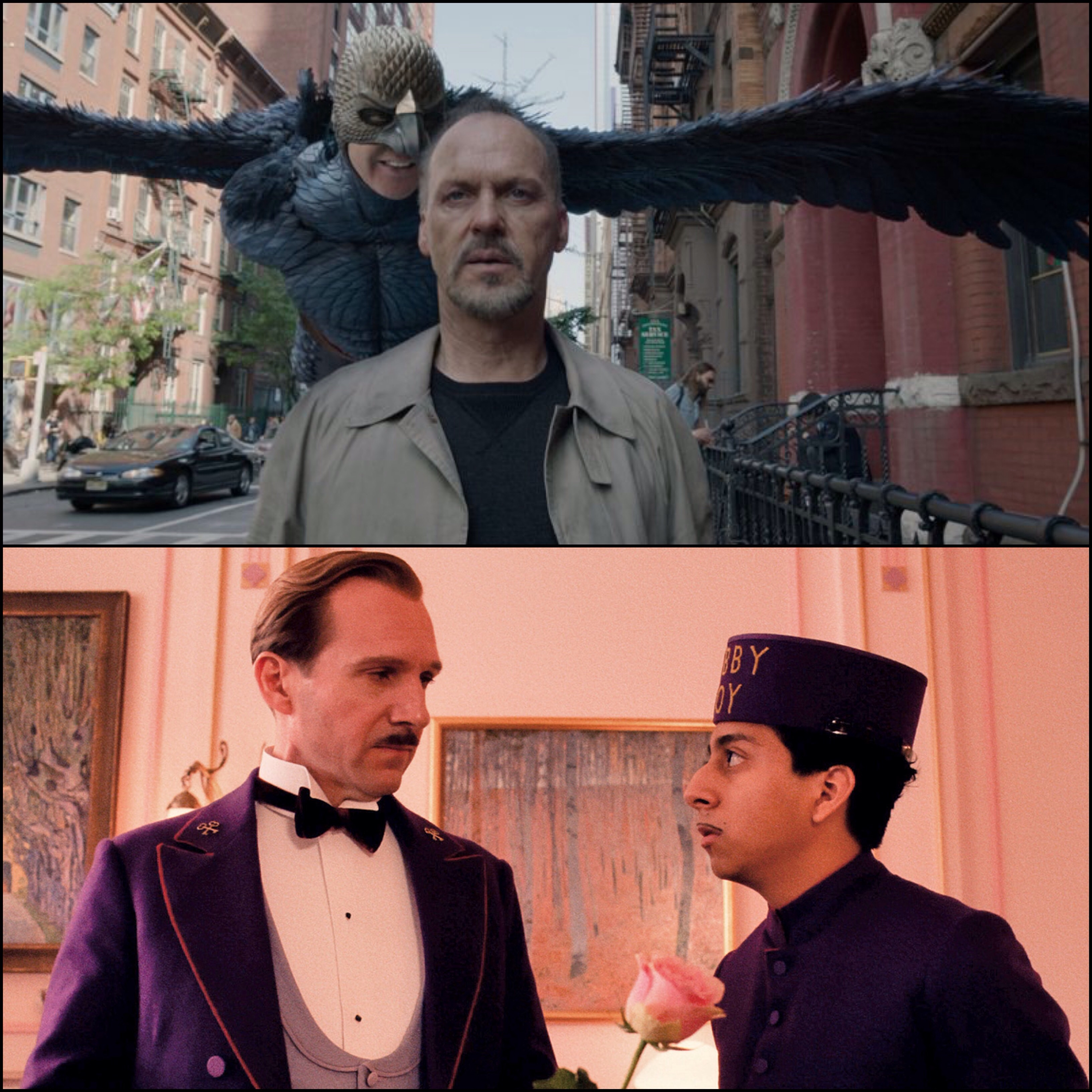 Birdman and The Grand Budapest Hotel Lead Oscar Nominations 2015